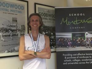 Andy completes second marathon